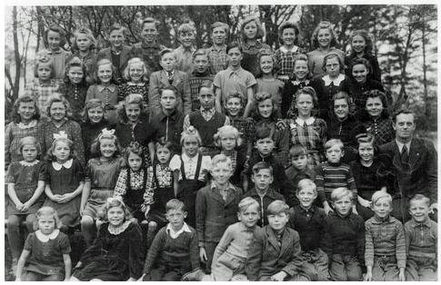 Skolebillede 1943-44
