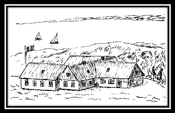 lejrgården med ramme