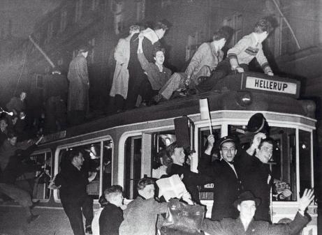 4 maj 1945 sporvogn