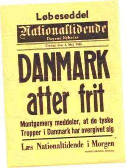 Danmark atter frit loebeseddel