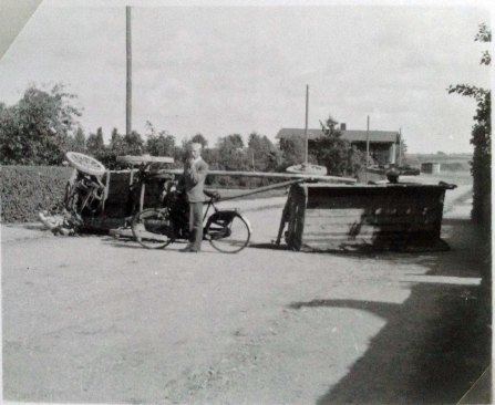 Beskeden vejspærring 29 aug 1943