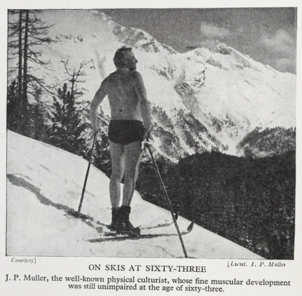 JP Müller i Alperne