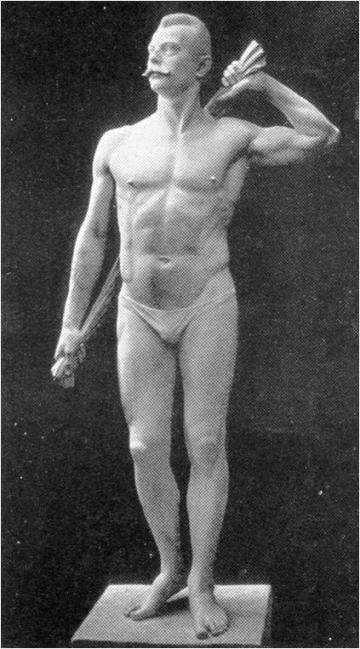 Statue af J.P. Müller