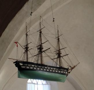 Kirkeskib Odden Kirke