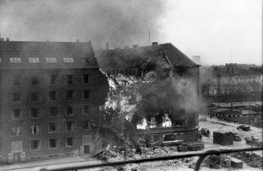 Shellhuset bombning