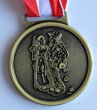 Medalja 2014 Hvad fatter gør er altid det rigtige