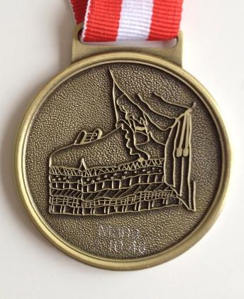 Medalje 2014 Prinsessen på ærten