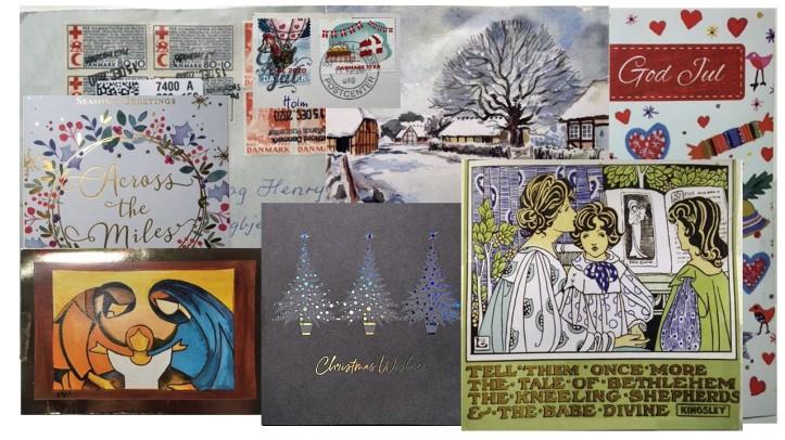 Julekort frimærke 2020