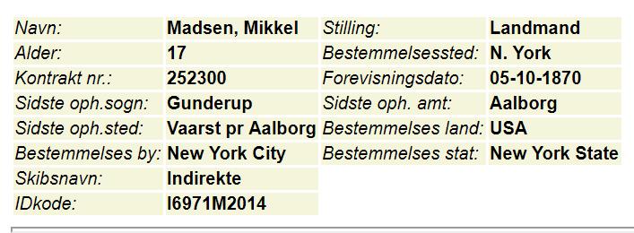 Mikkel Madsen DDD arkiv