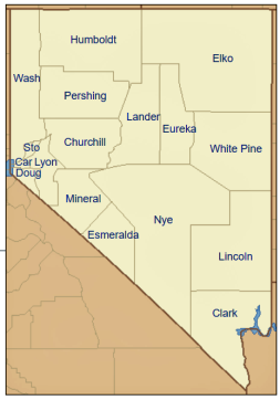 Nevada - Lander og Eureka Counties