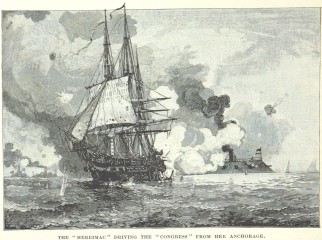 The_Virginia_drives_the_Congress_from_her_anchorage