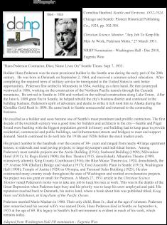 HANS PEDERSON Bibliography