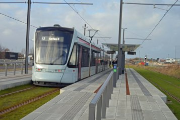 På tur med den nye sporvogn/letbane