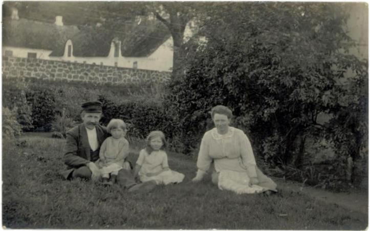 Gunderup Moster Anne og familie