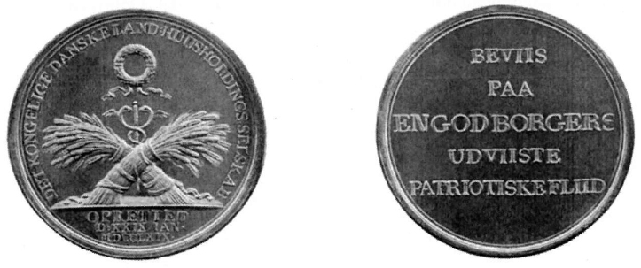 Sølvmedalje Landhus