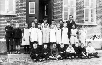 Skolebillde 1917 Vårstkommuneskole