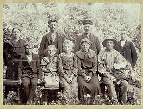 Brogård - Peder Madsen familien