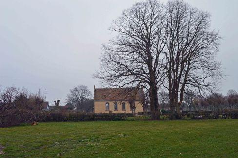 Kapellet på Marstal kirkegård