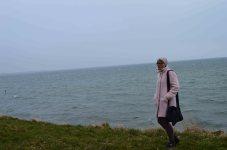 Meget kold vind og havgus