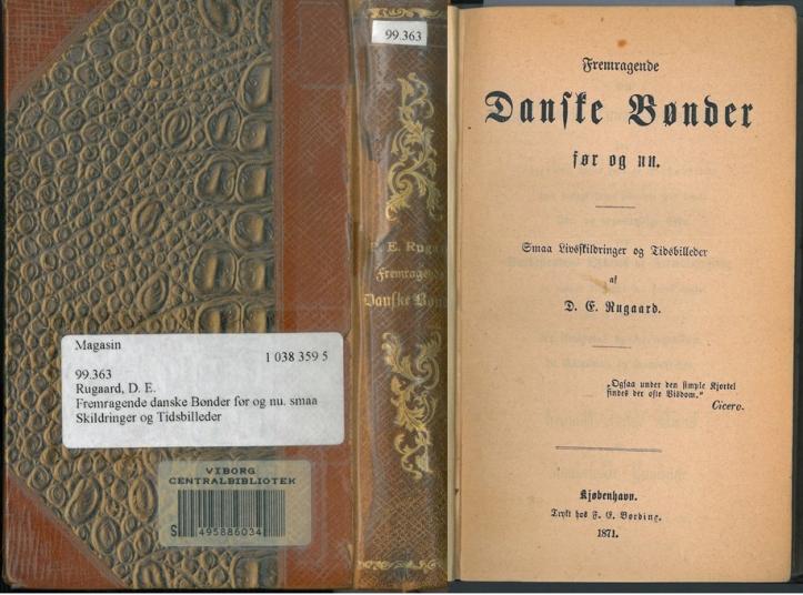 Fremragende Danske Bønder 1871