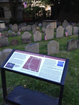 Burying Ground at Kings Chapel