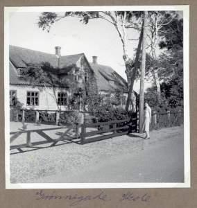 Grønnegade skole Marias mor Ruth på nostaltisk tur