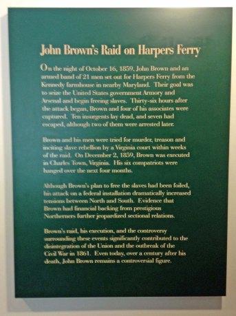 John Brown raid on Harpers Ferry