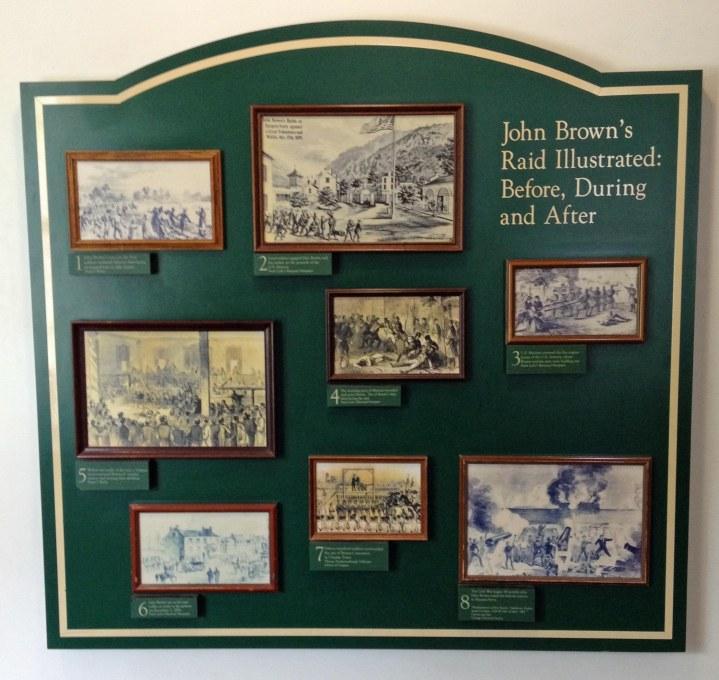John Browns raid illustrated