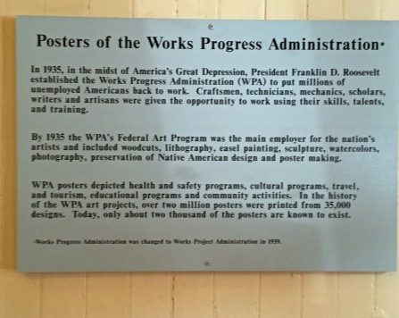 Display inside Harpers Ferry Train Station