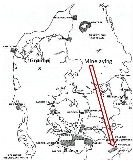 Minelaying - Grønhøj