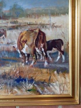 Mogens Thorsen - Hereford ko med kalv