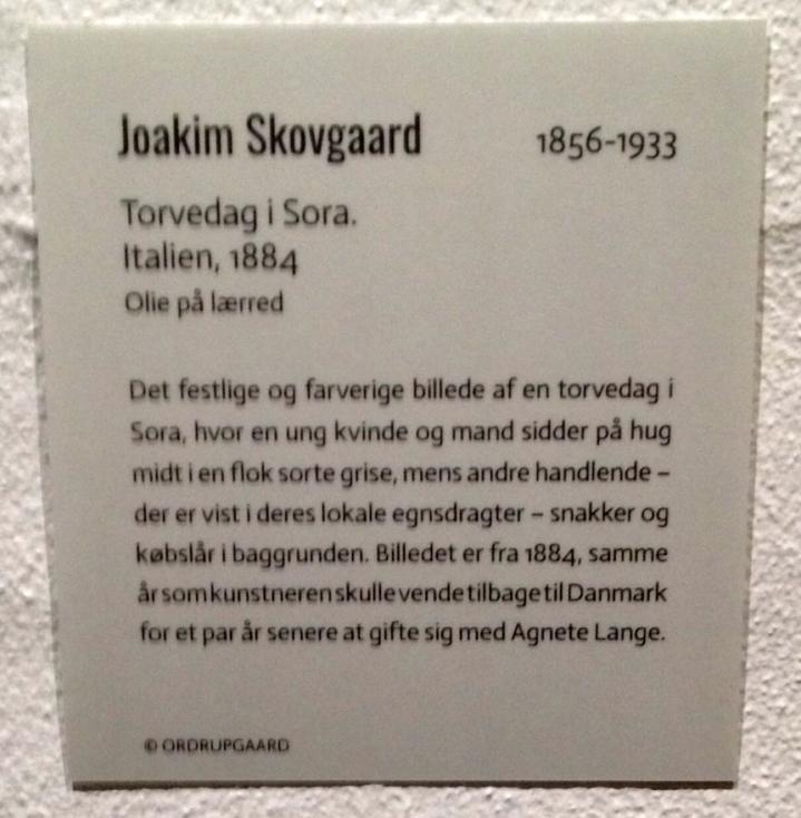 Joakim Skovgaard tekst