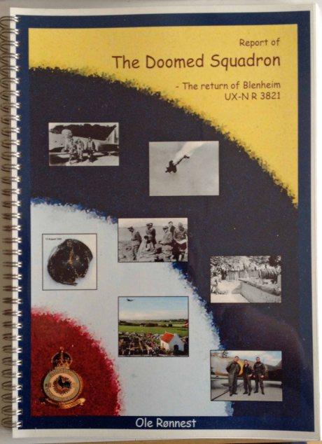 """Forside """"The Doomed Squadron"""" af Ole Rønnest"""