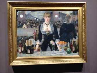 Manet - A bar at the Folies-Bergére