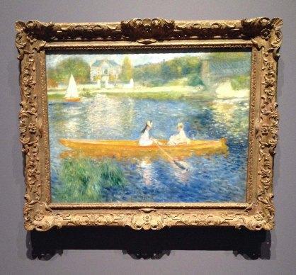 Renoir - The Skiff