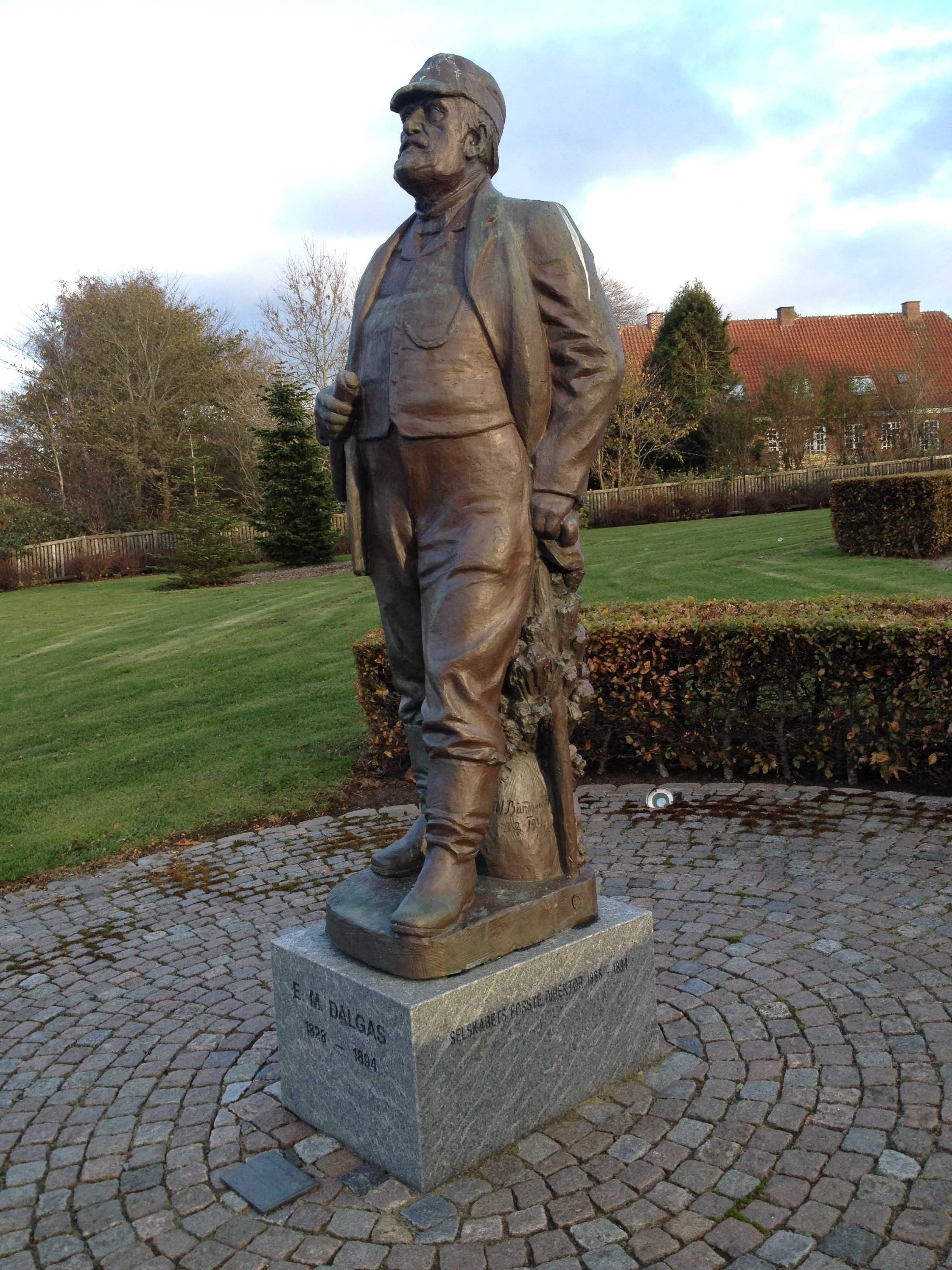 Dalgas skuer her ud over Viborg og Nørresø