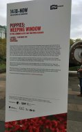 Imperial Was Museum - weeping poppies