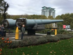 Imperial War Museum - me and the cannons