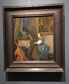 Vermeer - A young woman seated at a virginal