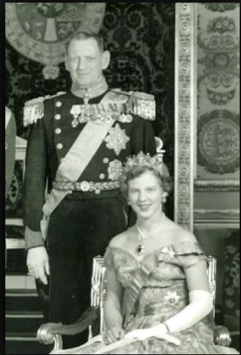 Frederik 9 og Margrethe senere II