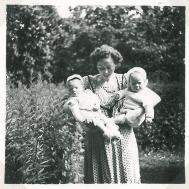 Forår i Holbæk hos mormor og morfar
