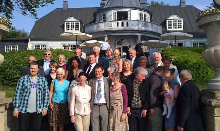 60 år fejres med familie og venner