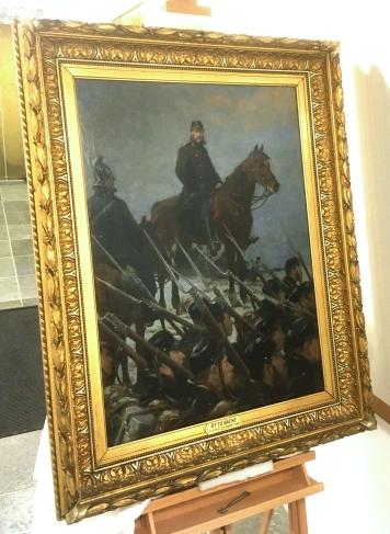 Max Muller malet af Otto Bache - Ribe Kunstmuseum