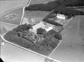 Testrupgård Luftfoto 1946