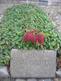 Som Kaj Munks gravsted ser ud i dag