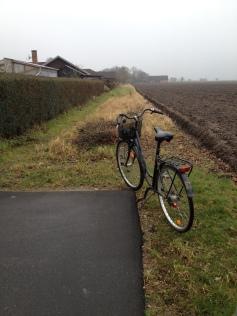 Her stopper cykelstien - fortsættelse måske på næste budget