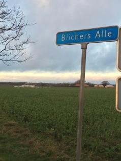 Blichers Alle - på vej fra Viborg mod Randers