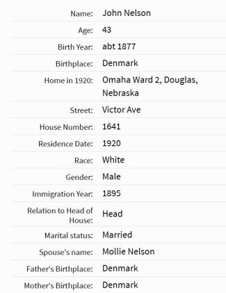 Census 1920-1