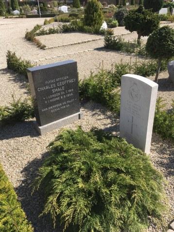 Gravsted med dansk og Commonwealth gravsted