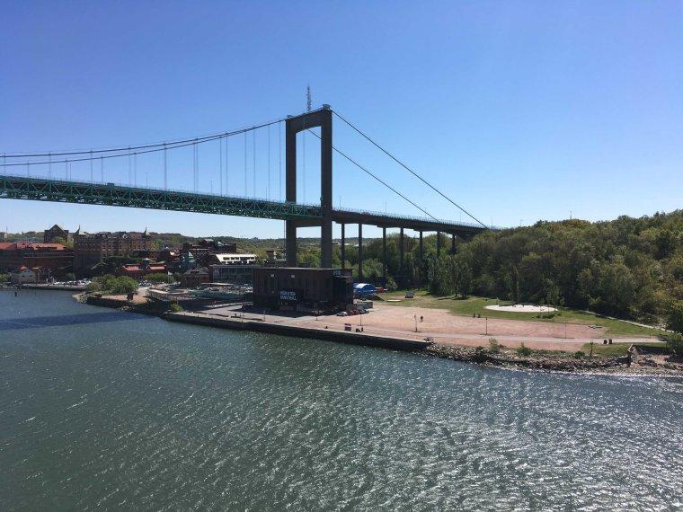 Passage af Älvsborgsbron